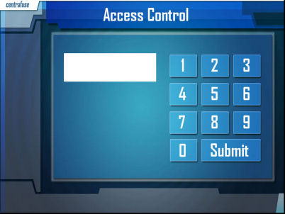 access control prevents unauthorised car pc access and records wav