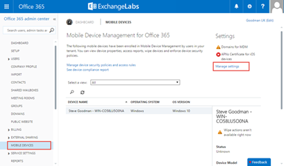 Using office 365 mobile device management all about office 365 - Office for mobile devices ...